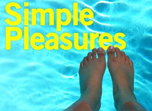 It's the simple pleasures