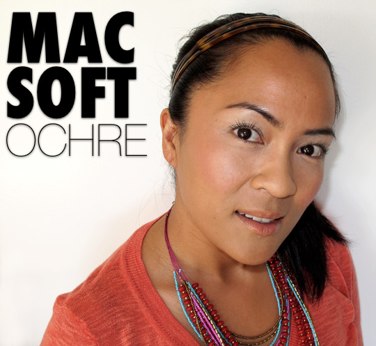 mac soft ochre paint pot