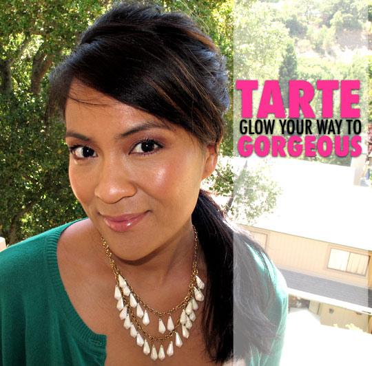 tarte glow your way to gorgeous