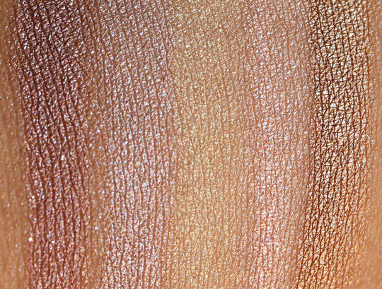 urban decay 15-year anniversary eyeshadow collection swatches 1