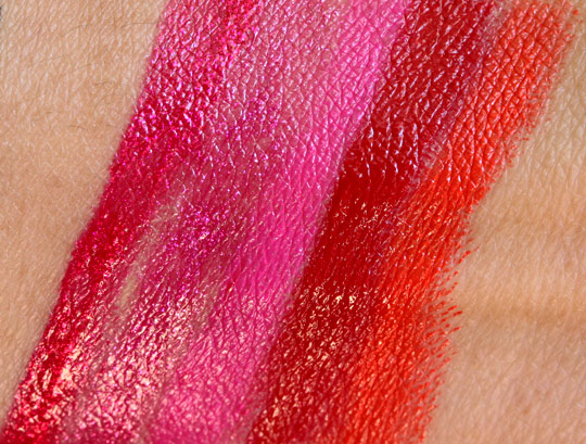 urban decay super saturated high gloss lip color swatches