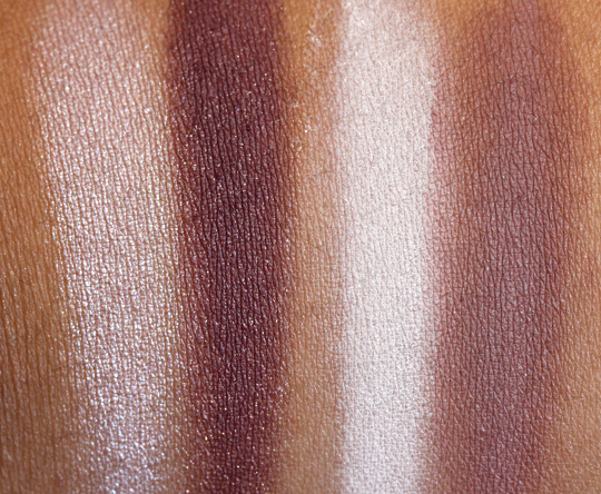 bare minerals ready swatches inspiration nick of time