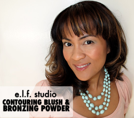 elf contouring blush and bronzing powder 1