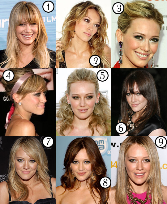 Hilary Duff: Her Best Hair?