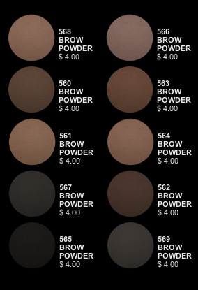 Revolutionizing Brows With 4 Inglot Freedom Brow Powders