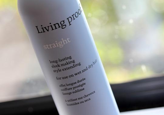 Living Proof Straight Spray Keeps My