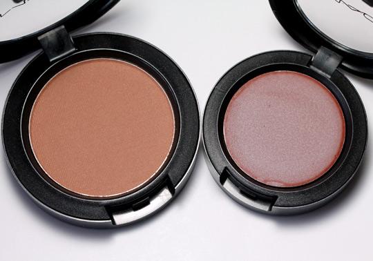 mac Equilibrium Satin Powder Blush Take Root Frost Cream Color Base