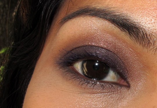make up for ever smoky couleur eye