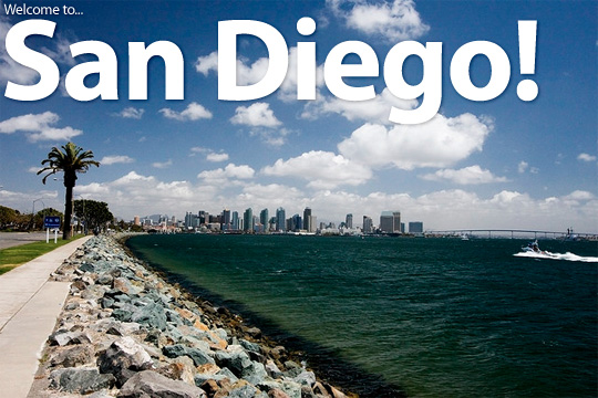 Welcome to San Diego!