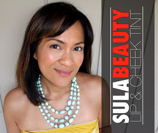 sula beauty lip and cheek tint