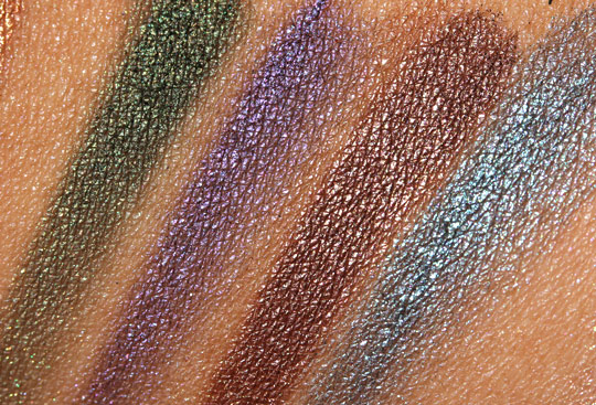 urban decay book of shadows iv swatches 2
