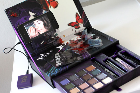 urban decay book of shadows iv swatches iphone 2