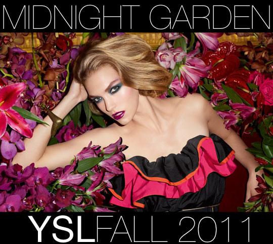 ysl midnight garden fall 2011