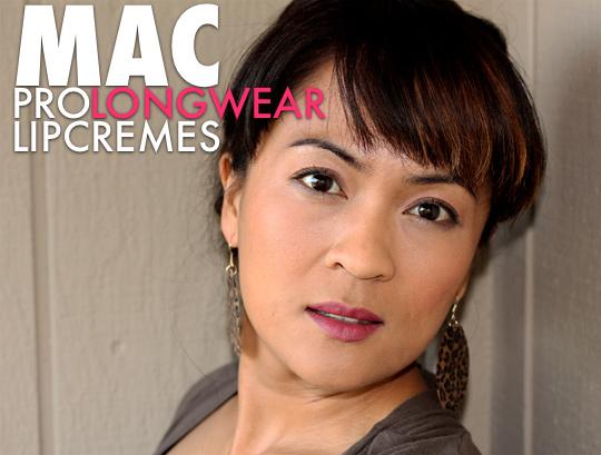 MAC Dashing Pro Longwear Lipcreme