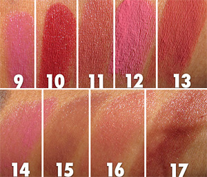 Bobbi Brown Marrakesh Swatches