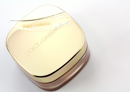 dolce gabbana perfect finish creamy foundation