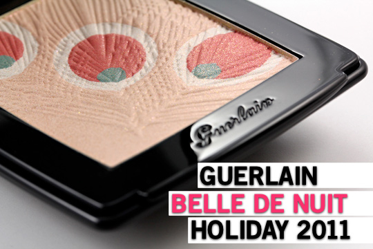 guerlain belle de nuit holiday 2012