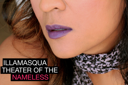 illamasqua theater of the nameless kontrol lipstick