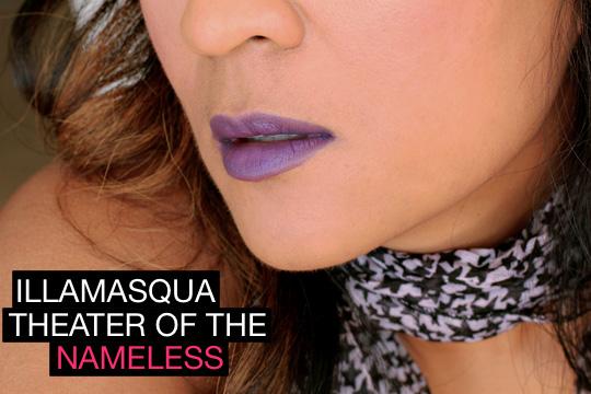 illamasqua theater of the nameless kontrol lipstick