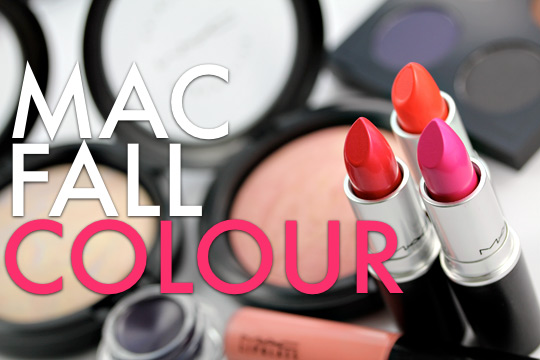 mac fall colour collection