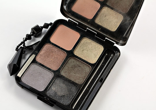 mac velvet 6 smoked eyes palette holiday 2006