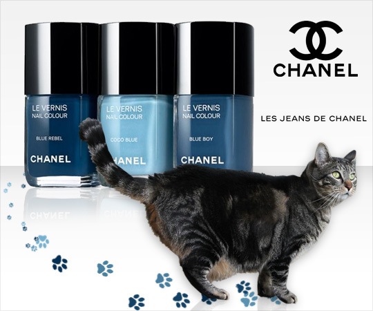 Tabs for Les Jeans de Chanel Nail Polishes