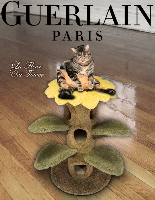 Tabs for the Guerlain Cat Tower