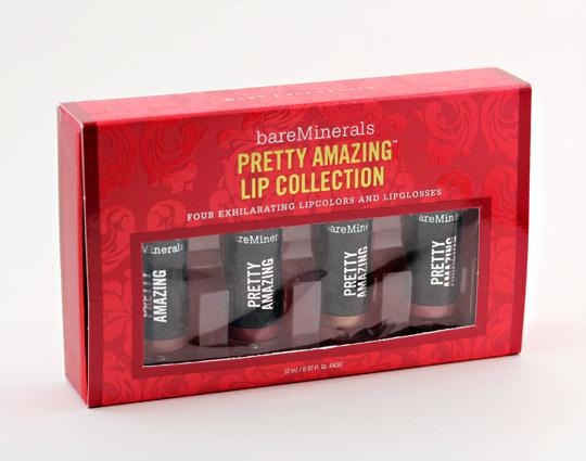 bare minerals pretty amazing lip collection box