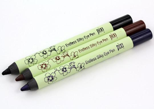 pixi endless silky eye pen taster trio pencils