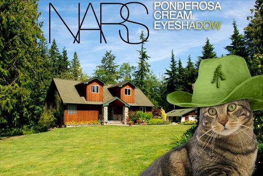 Tabs for NARS Ponderosa Cream Eyeshadow