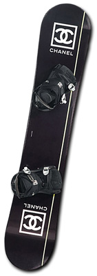 A snowboard for Coco