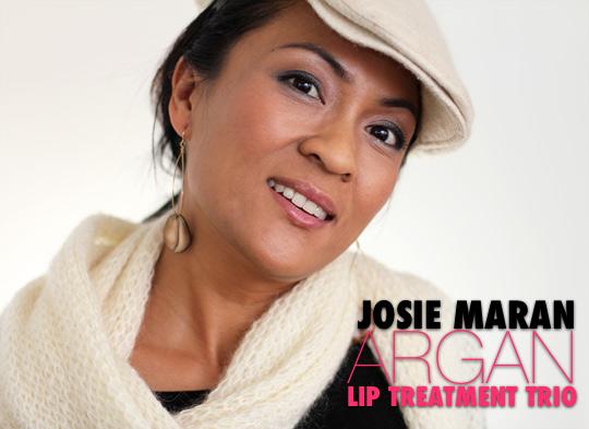 josie maran argan lip treatment trio