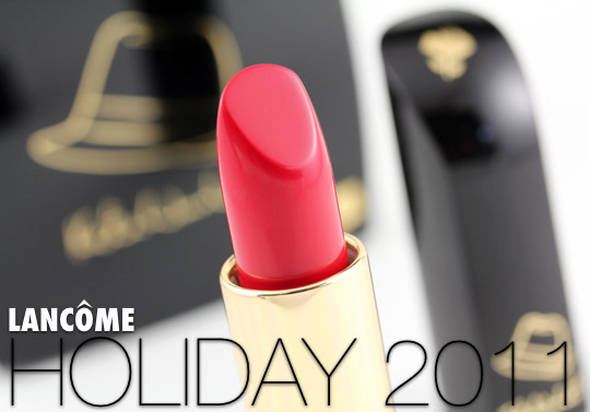 Lancome Caprice Lipstick from Holiday 2011
