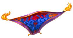 Magic carpet ride?