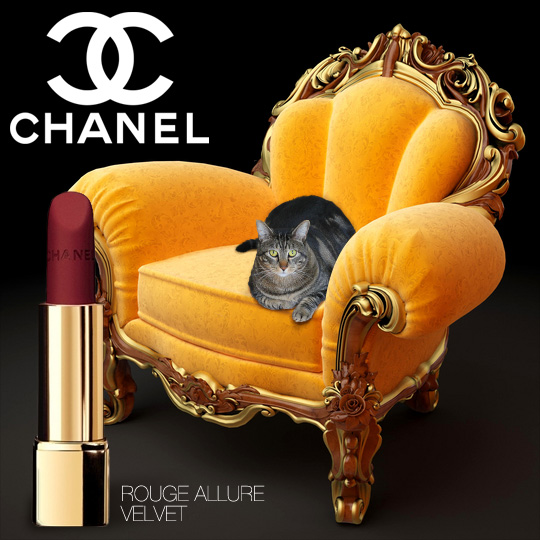Tabs for Chanel Velvet Rouge