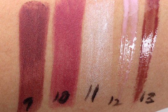 mac daphne guinness swatches