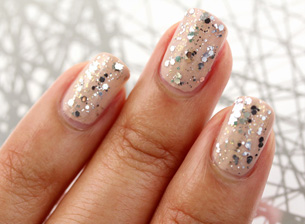 Mixed Metal Manicure