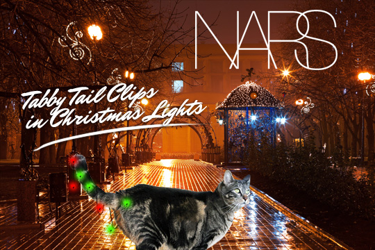 Tabs for NARS Tabby Tail Clips in Christmas Lights