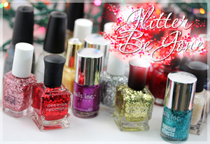 How to remove glitter nail polishes