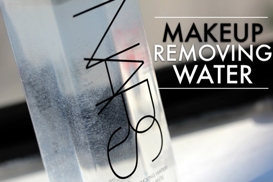 Easy Does It With NARS Makeup Removing Water