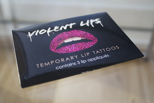 Violent Lips Temporary Lip Tattoos