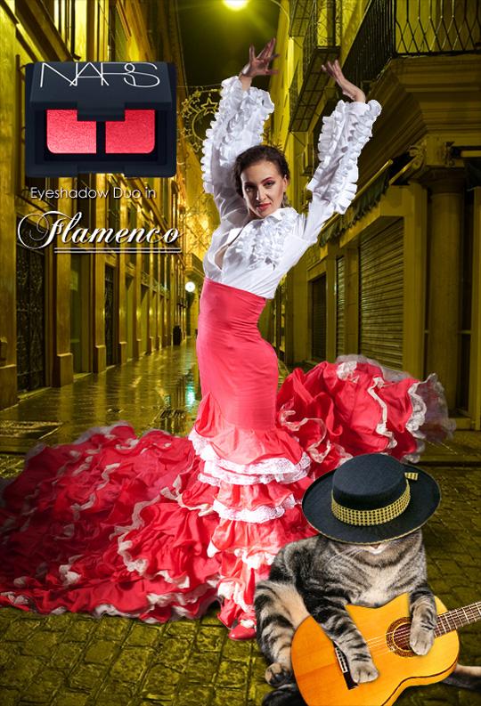 Tabs for NARS Flamenco
