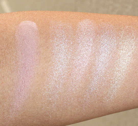 Bobbi Brown Brightening Nudes Swatches swatches