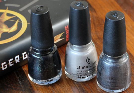 China Glaze Capitol Colours hook line sone cold smoke ashes
