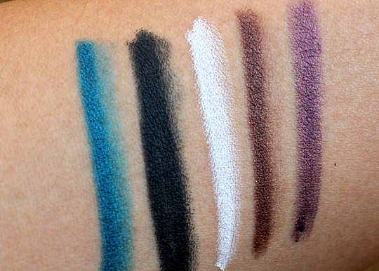 dolce gabbana khol collection liner swatches