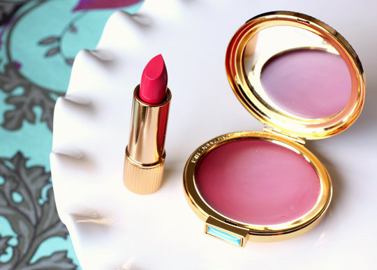 estee lauder collection creme rouge in evening rose cherry lipstick