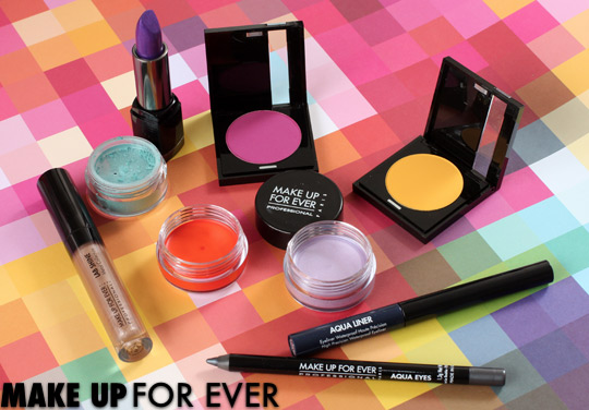 make up for ever spring 2012 pantone color report