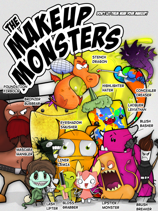 The Makeup and Beauty Blog Makeup Monsters