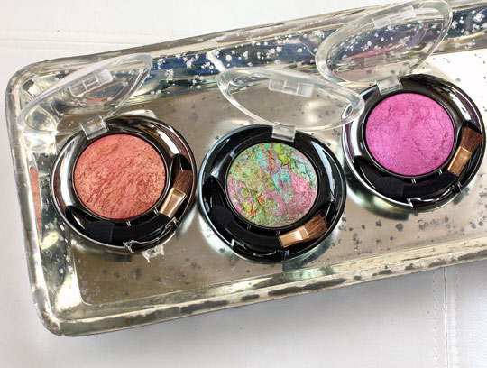 milani marbelized baked eyeshadows