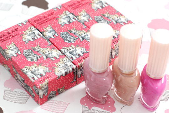 paul & joe kitten collection nail enamel